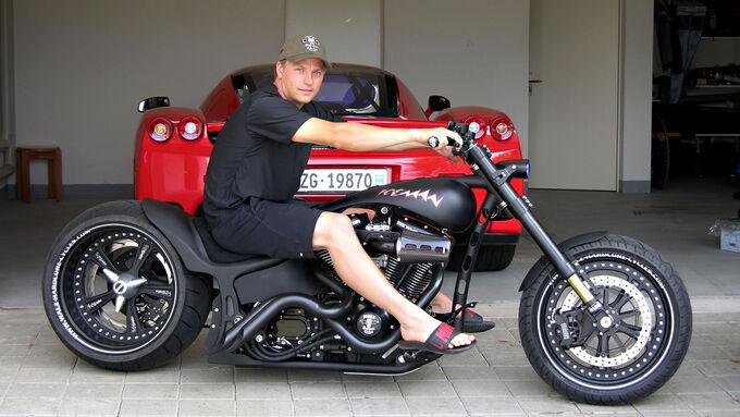 Kimi Räikkönen - Bikes der F1-Piloten