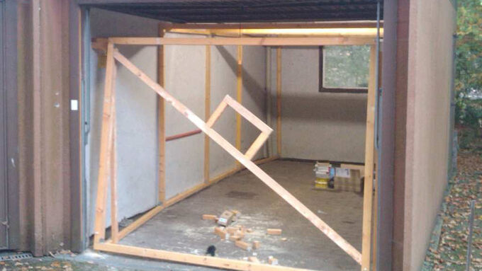 klimatisierte langzeitlagerung in der fertiggarage. Black Bedroom Furniture Sets. Home Design Ideas