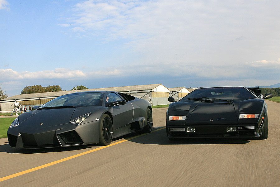 lambo power reventon vs countach tt. Black Bedroom Furniture Sets. Home Design Ideas