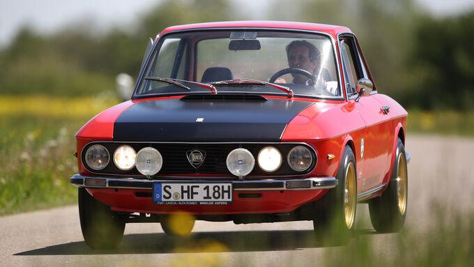 Lancia Fulvia Coupé, Frontansicht