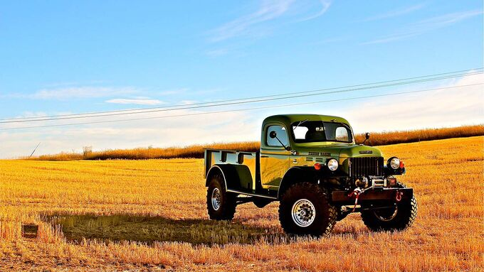 Legacy Dodge Power Wagon Regular Cab