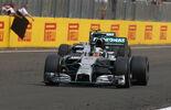 Lewis Hamilton Nico Rosberg - Mercedes - GP Ungarn 2014
