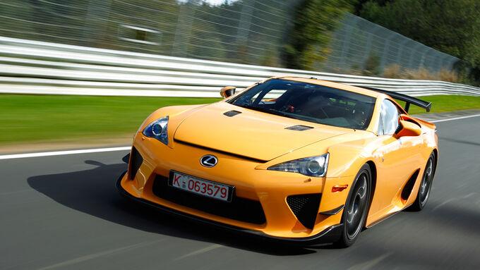 Lexus LFA mit Nürburgring Package, Frontansicht