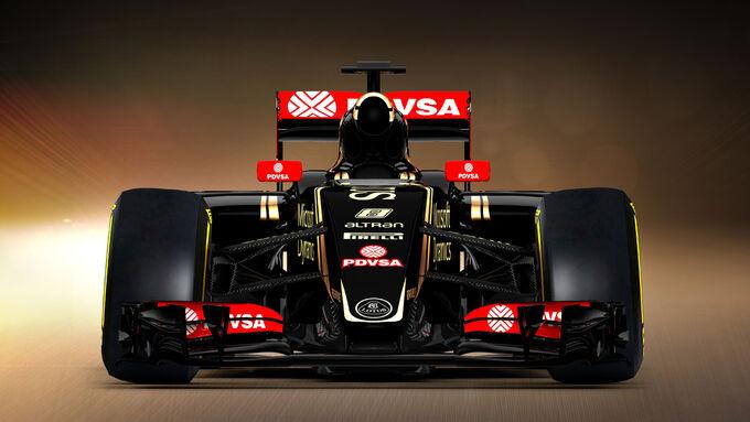 Lotus E23 für 2015