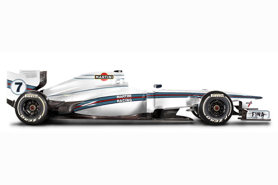 Williams will reveal Martini livery at Bahrain test