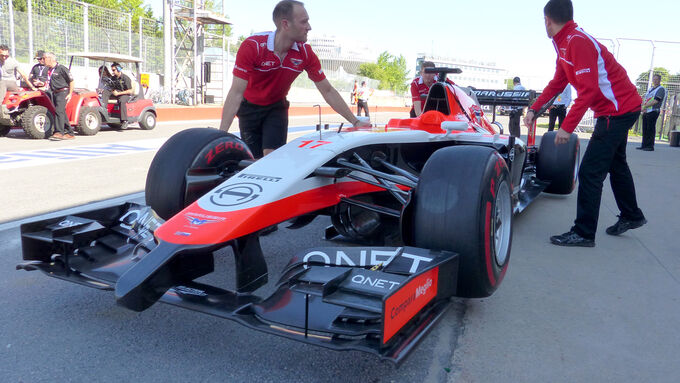 Manor-Marussia auf FIA-Nennliste