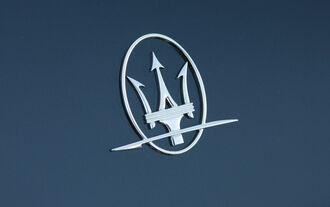 Maserati Ghibli Diesel, Emblem, Dreizack