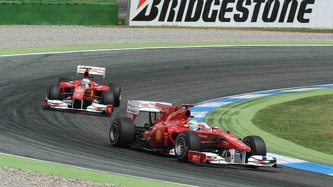 Massa und Alonso