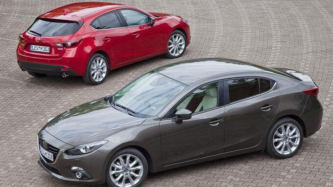 Mazda 3 Limousine Stufenheck