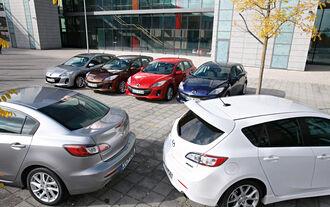 Mazda 3, verscheidene Modelle