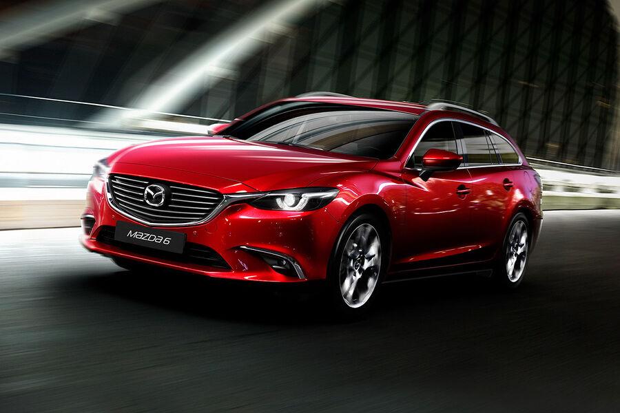 Mazda 6 auf der L.A. Autoshow: Mehr Allrad und mehr ...