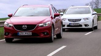 Mazda 6 und Honda Accord