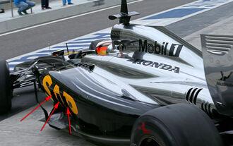 Test für McLaren-Honda