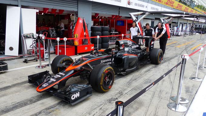 McLaren-Honda - GP Italien - Monza - Donnerstag - 3.9.2015