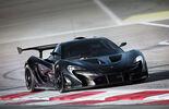 McLaren P1 GTR - Bahrain - Testfahrt - 10/2014