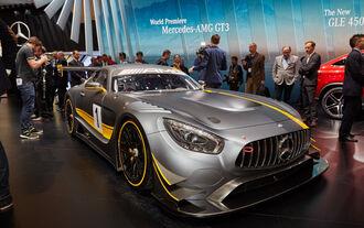 Mercedes AMG GT GT3 Genf