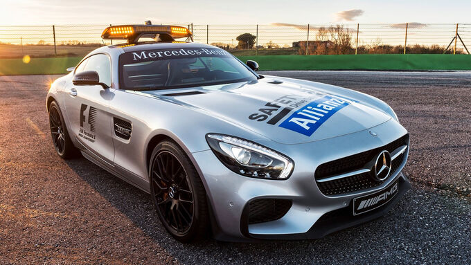 F1 Safety-Car und Medical-Car