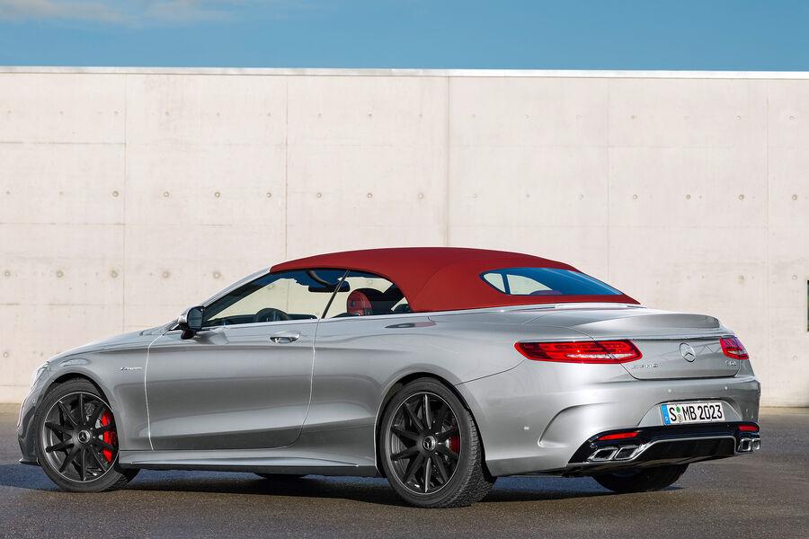 Mercedes S Klasse Cabrio Alle Infos Und Bilder Zum Luxus