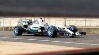 Mercedes AMG W06 - Spy