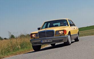Mercedes-Benz 560 SEL, Frontansicht