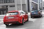 Mercedes CLA 250 Shooting Brake AMG Line, Skoda Octavia Combi RS 2.0 TS
