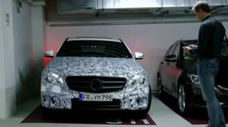 Mercedes E-Klasse Remote parking