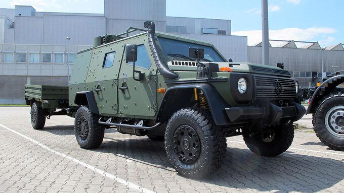 Mercedes G LAPV 6.1 Military Eurosatory