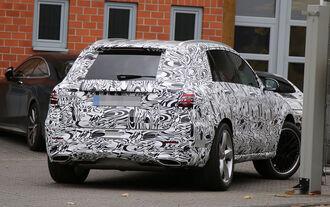 Mercedes GLC Erlkönig 63 AMG