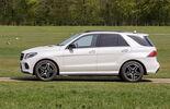 Mercedes GLE, Seitenansicht