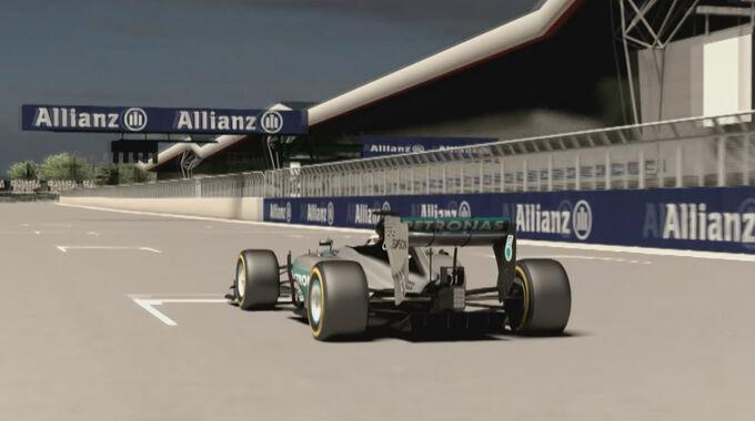 Mercedes - GP England Vorschau-Video - Screenshot