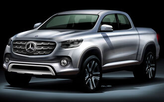 Mercedes Pickup-Studie