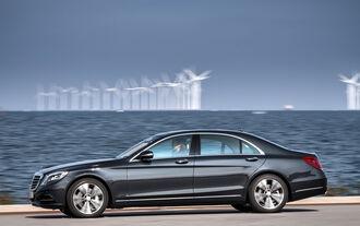 Mercedes S 500 Plug-in-Hybrid lang, Seitenansicht