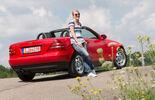 Mercedes SLK 200, Heckansicht