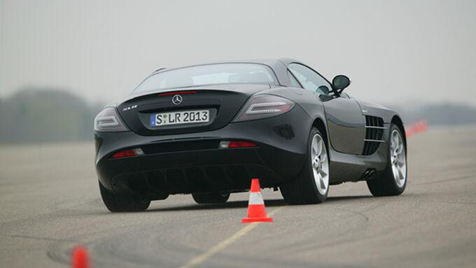 Mercedes SLR McLaren im Supertest