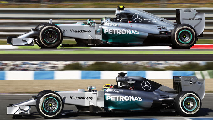 Mercedes F1-Technik