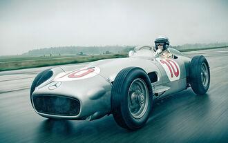 Mercedes W196R, Frontansicht