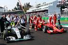 Krieg Mercedes gegen Ferrari
