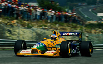 Michael Schumachern Benetton B191