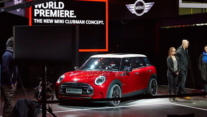 mini clubman concept auf dem genfer autosalon mini zeigt gr e auto motor und sport. Black Bedroom Furniture Sets. Home Design Ideas