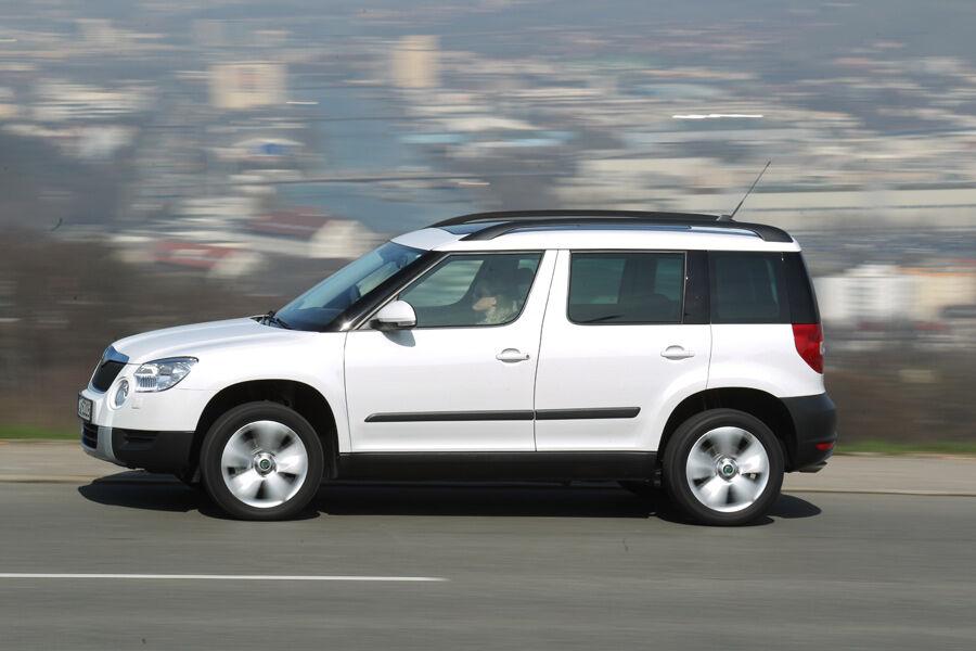 Skoda yeti 1 8 tsi 4x4 im test harmonieren benziner und for Nissan juke dauertest