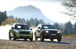 Mini Countryman, Range Rover Evoque
