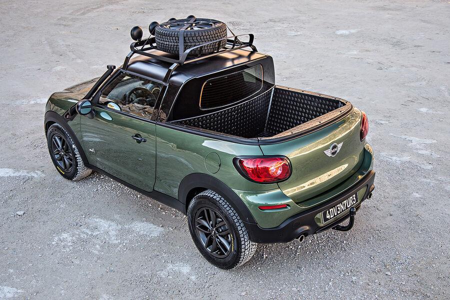 mini paceman pickup wildes adventure modell auto motor und sport. Black Bedroom Furniture Sets. Home Design Ideas