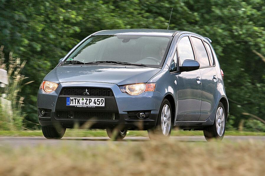 Mitsubishi Colt 1.3 Cleartec Intense: Der Colt mit Start-Stopp im ...
