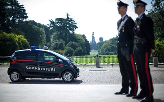Mitsubishi Electric Vehicle Polizei