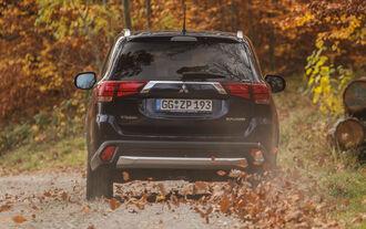 Mitsubishi Outlander 2.2 Di-D 4WD, Heckansicht