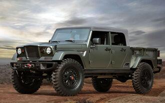Moab Easter Jeep Safari Concepts 2016: Jeep Crew Chief 715