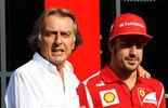 Montezemolo und Alonso - Ferrari 2012