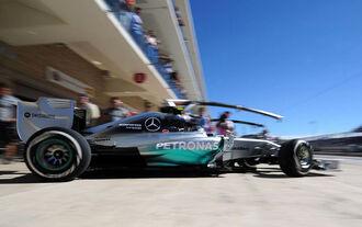 Rosberg macht das Tempo
