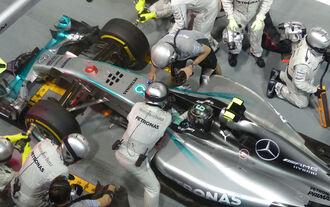 Nico Rosberg - GP Singapur 2014