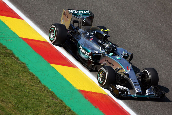 Nico Rosberg - Mercedes - Formel 1 - GP Belgien - Spa-Francorchamps - 21. August 2015